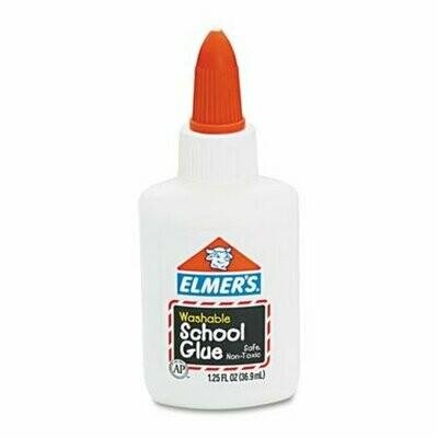 Elmers / School Glue Washable No-Run, 1.25 oz