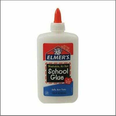 Elmers / School Glue Washable No-Run, 7 5/8 oz.