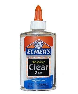 Elmers / Clear School Glue Washable, 5 oz