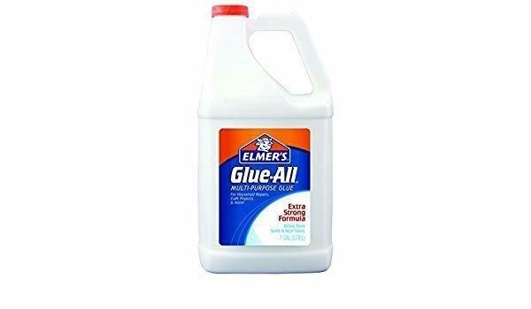 Elmers / Glue-All Multi-Purpose Glue, White, 1 gal/ 3.78 Litre