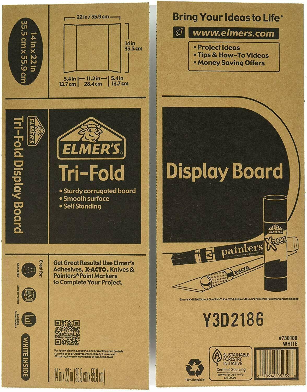 Elmers / Presentation Board, 14 x 22 White