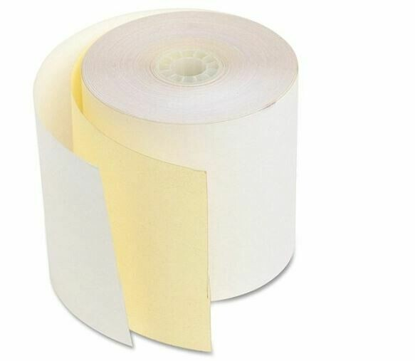 "Atlas / Add Roll 3"" Carbonless NCR 2 Ply"