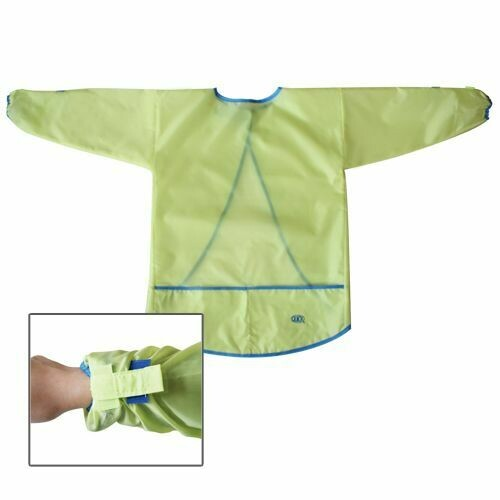 Quick / Art Apron w/Long Sleeves Fabric Assorted