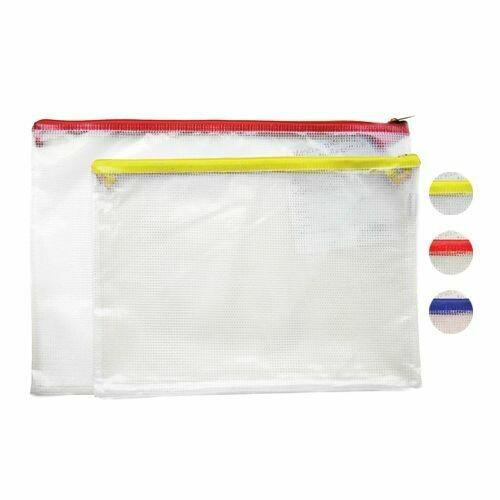 Quick / Envelope Mesh Plastic w/Zipper