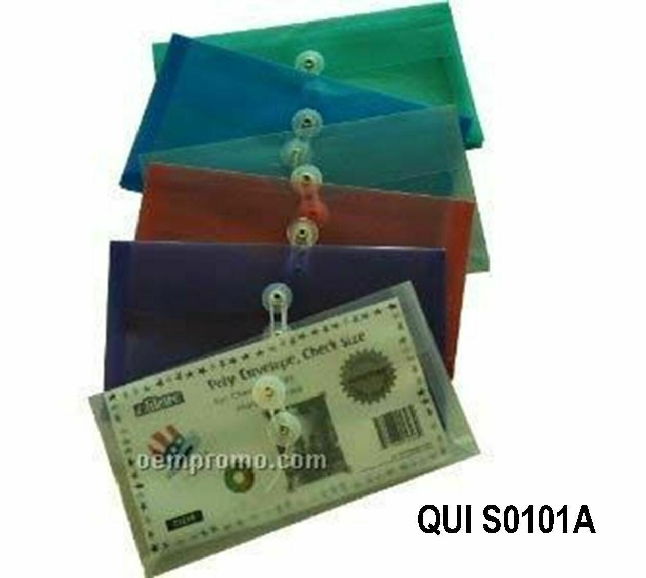 Quick / Envelope Plastic Lgl Horizontal w/Tie