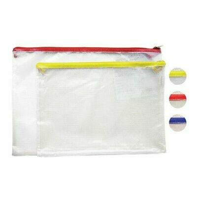 Quick / Envelope Mesh, Plastic w/Zipper