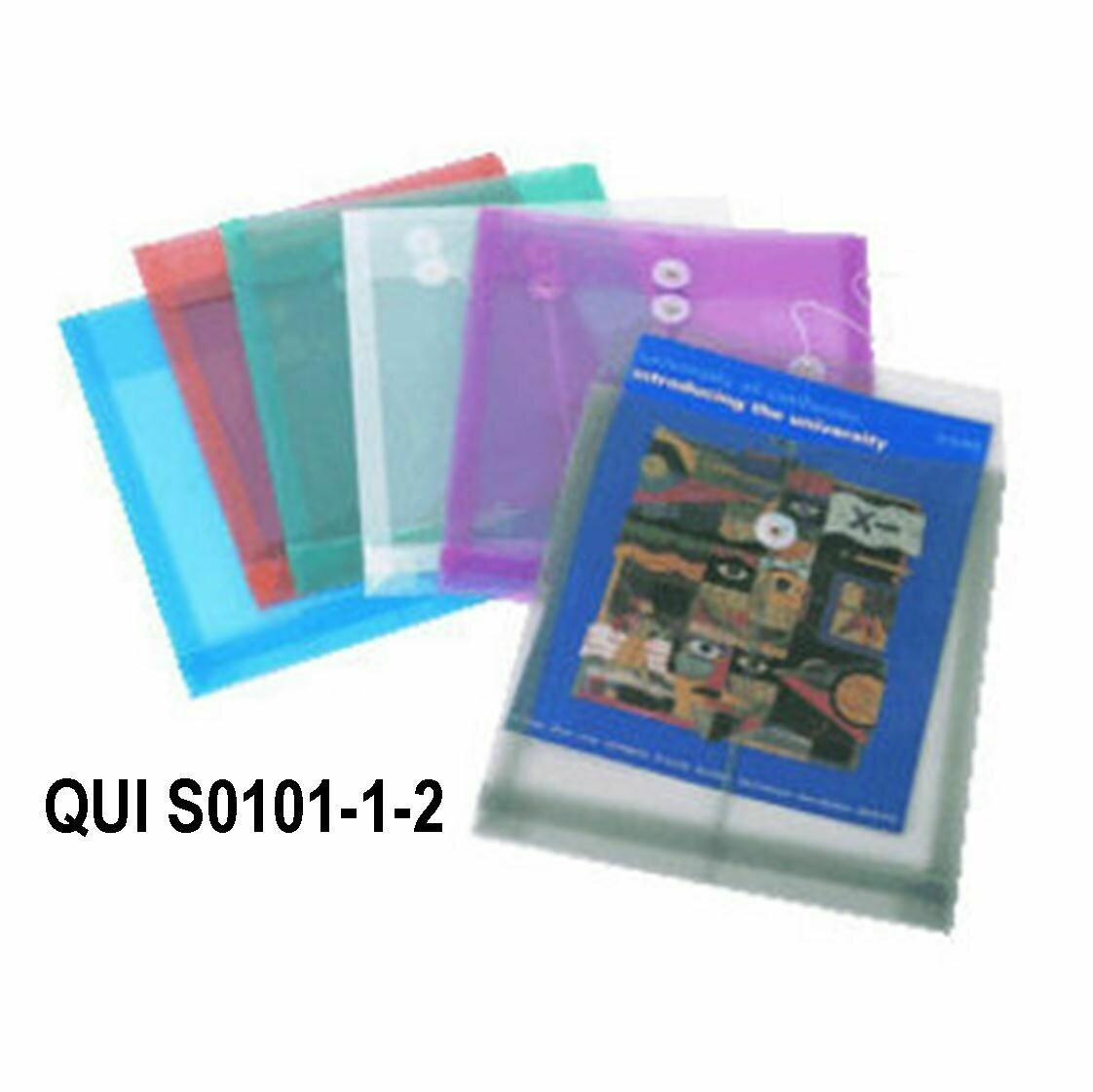 Quick / Envelope Plastic, Legal, Vertical w/Buttom