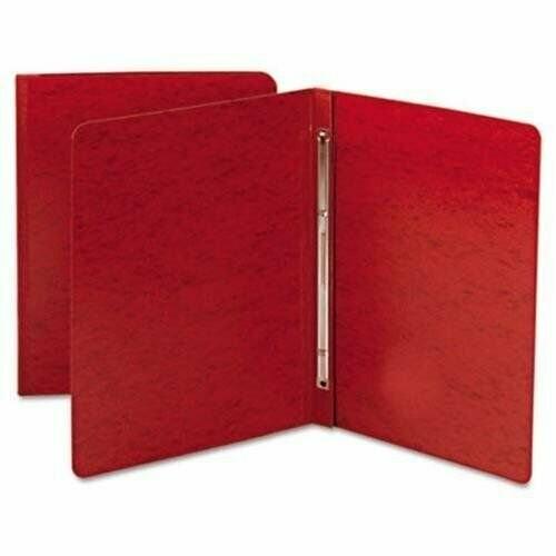 Atlas / Binder Pressboard, Letter, Open Side, Red Rope