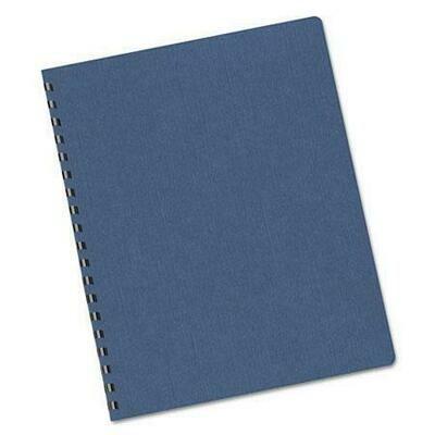 Quick / Binding Cover Paper Linen, Blue, Pk-100