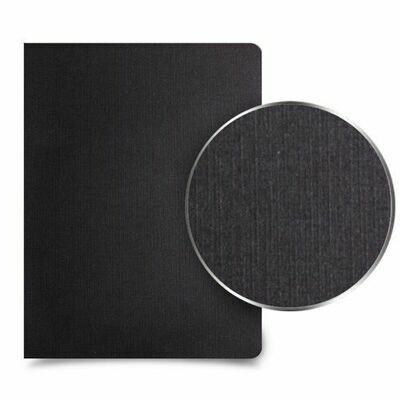 Quick / Binding Cover Paper, Linen, Black, Pk-100