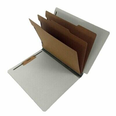 Atlas / Partition Folder Letter, 3 Division, 8 Fasteners Box-10