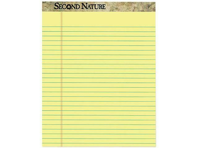 Pad Letter Size, Canary, 12 per pack