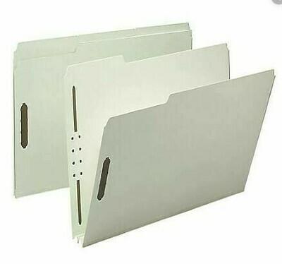 Atlas / Pressboard Folders Letter, 2 Fasteners, Box-25