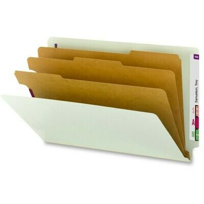 Atlas / Partion Folder, Legal, 3 Division, 8 Fasteners, Box-10