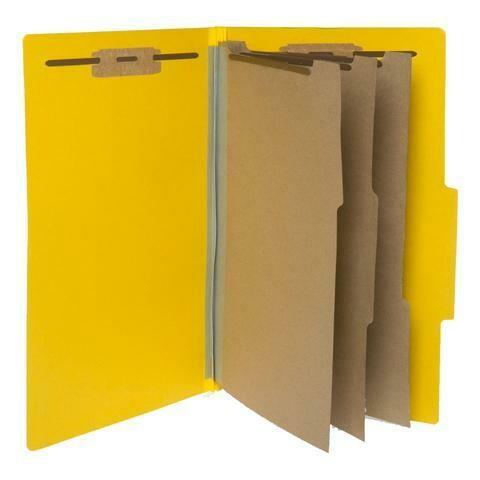 Atlas / Partition Folder Letter, 3 Divisions, Box-10