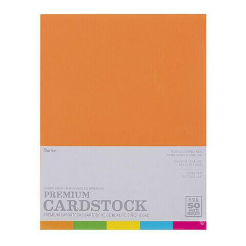 Darice / Cardstock, Pk-50