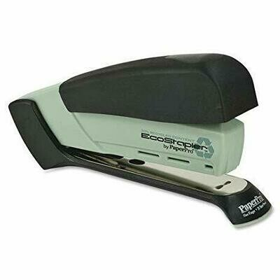 PaperPro / inVOLVE™ Eco-Friendly Desktop Stapler (EcoStapler), Black and Gray