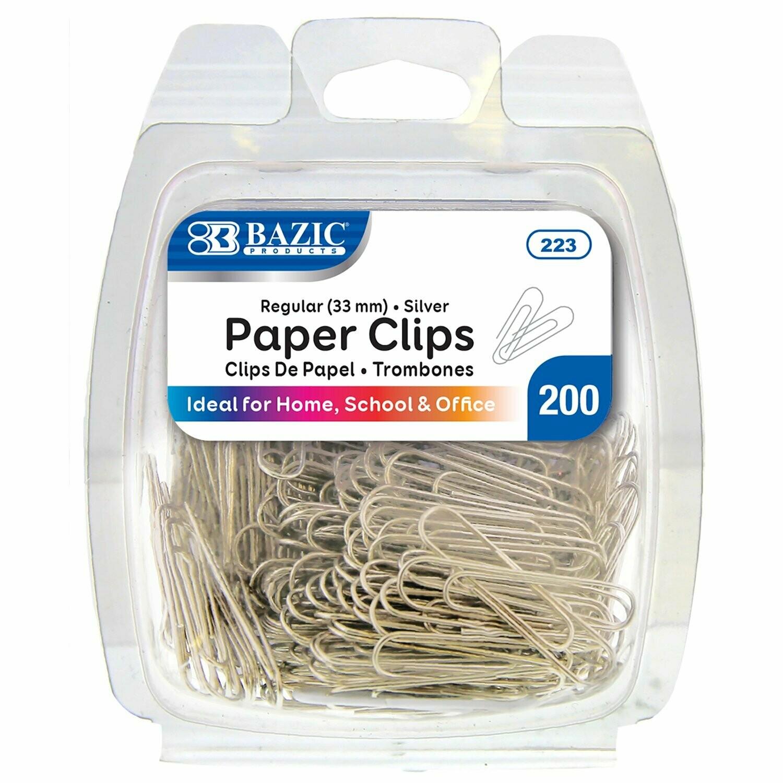 Bazic /  Paper Clips #1, Silver