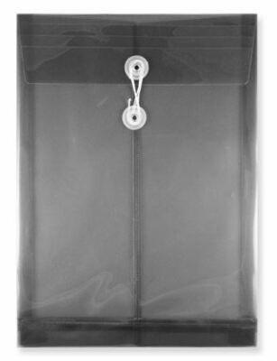 Quick / Envelope Vertical, Legal, Plastic with Button