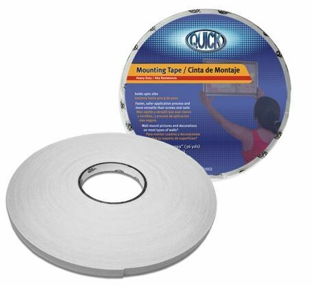 """Quick / Mounting Tape 3/4"""" x 36yds"""