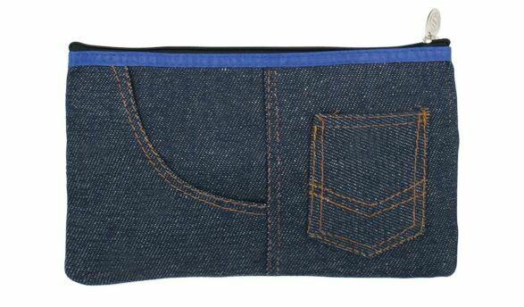 Quick / Pencil Case, Jeans Style