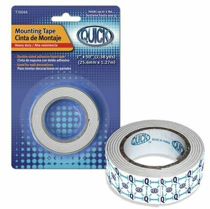 """Quick / Mounting Tape 1"""" Small Roll"""