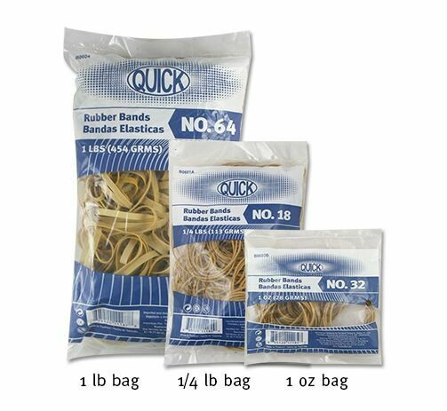 Quick / Rubber Bands #18, 1 oz. bag