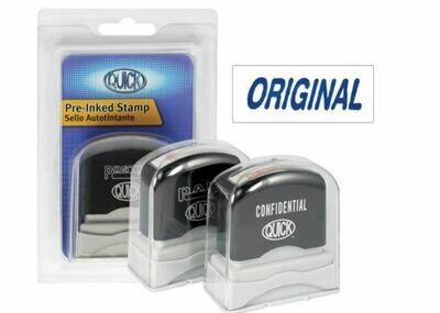 Quick / Stamp Self Ink Original