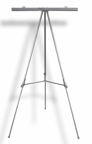 Quick / Tripod with Flip Chart, Aluminum