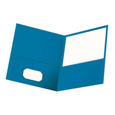 Oxford / Twin Pocket Folder, Letter Size, Pk-25