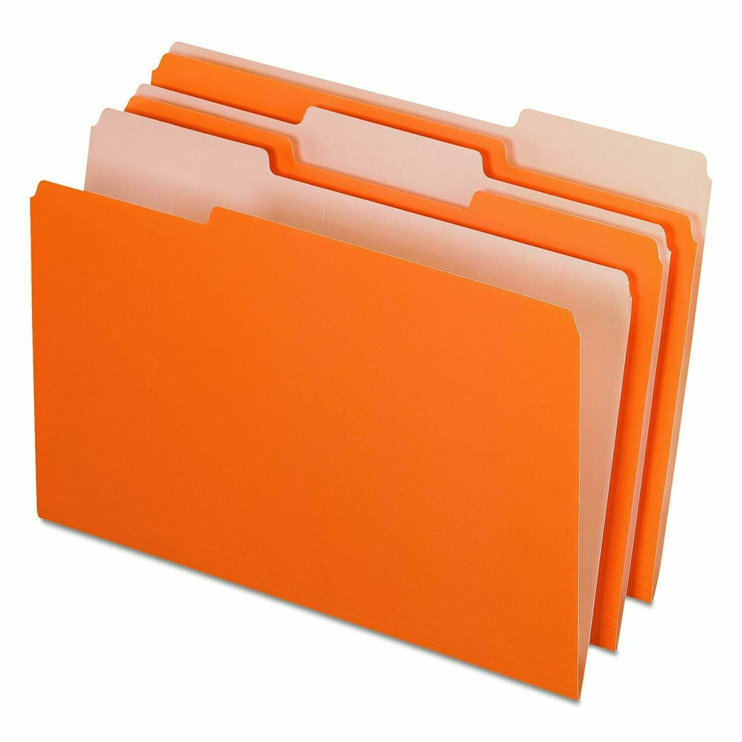 Pendaflex /  File Folders, Legal Size, 1/3 Cut Tabs, Pk-100