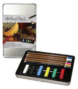 ROYAL BRUSH Pastel Pencil Art Set