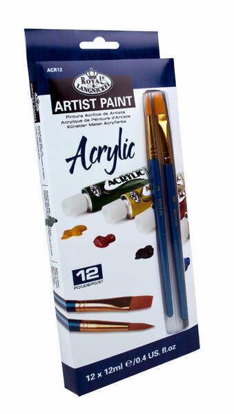 ROYAL BRUSH Acrylic Paint  (st-12)