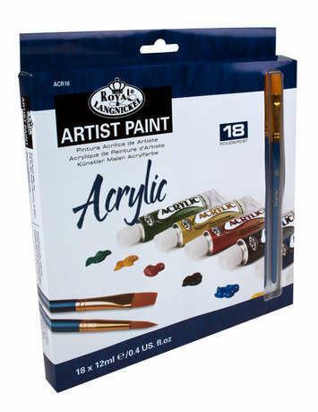 ROYAL BRUSH Acrylic Paint  (st-18)