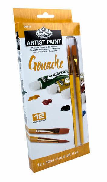 Paint Gouache set 12