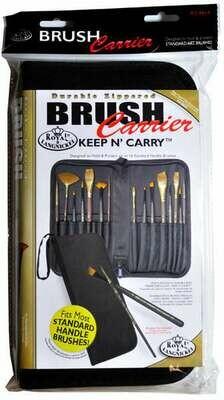 ROYAL BRUSH Empty Zipper Brush Carrier