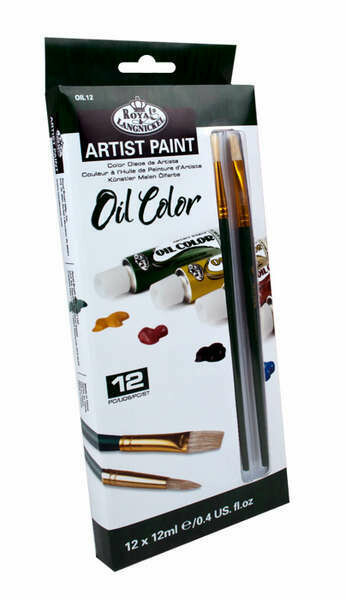 Oil Color Paint (pk-12)