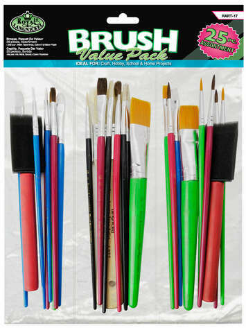 ROYAL BRUSH Brush Value Pack (pk-25)