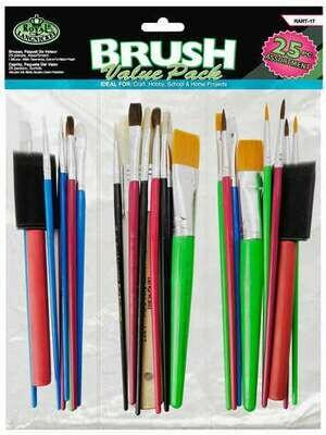 ROYAL BRUSH Brush Value Pack (pk-25)