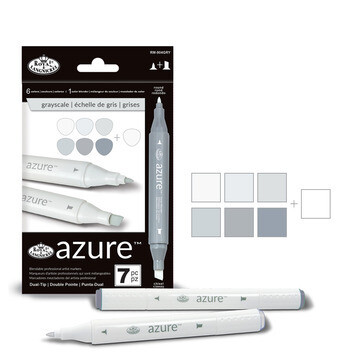 Art Markers Grayscale (pk-7)