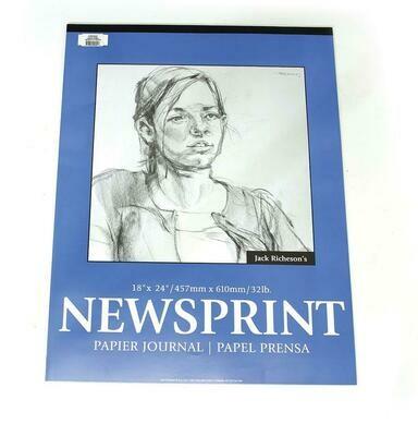 JACK RICHERSON Newsprint Pad 18x24 [EACH]