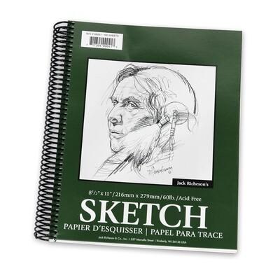JACK RICHERSON Sketch Pad 8.5x11 [EACH]