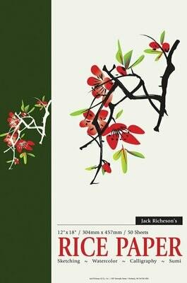 JACK RICHERSON Rice Paper Pad 12x18