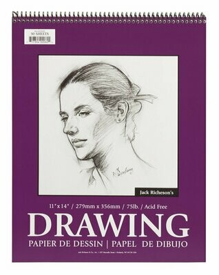 JACK RICHERSON Drawing Pad 11x14 #75 [EACH]