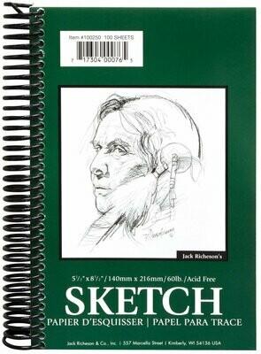 JACK RICHERSON Sketch Pad 8.5x5.5 [EACH]