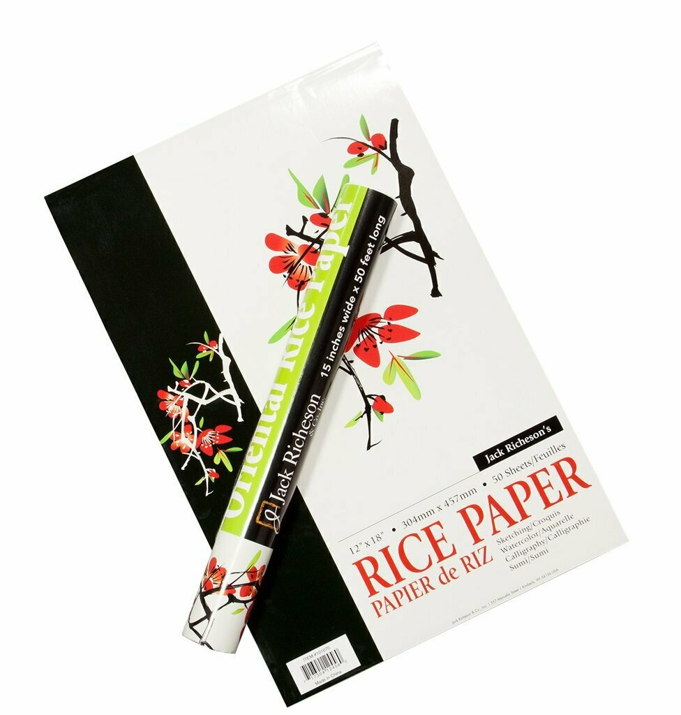 "JACK RICHERSON Rice Paper Roll 15""x50' [EACH]"