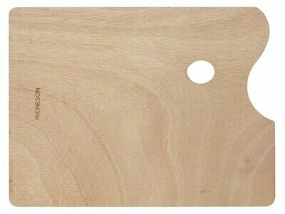 JACK RICHERSON Wood Palette 10x14 Rectangular [EACH]