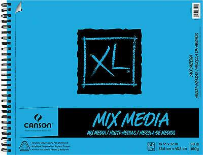 "Pad Mix Media 14""x17"" 60sht"