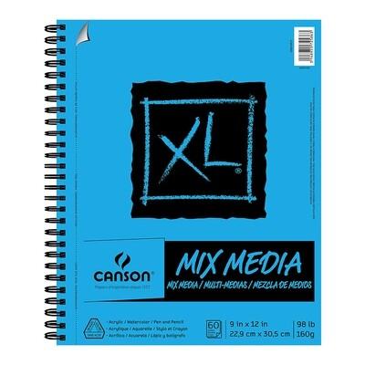 Pad Mix Media 9x12