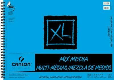 CANSON Pad Mix Media 18